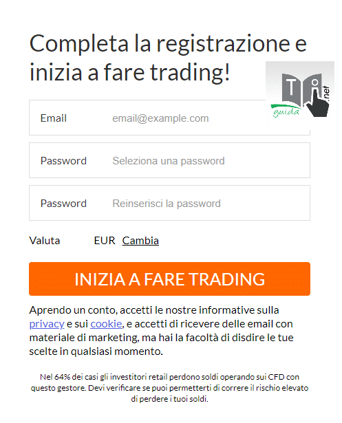 registrazione demo markets.com