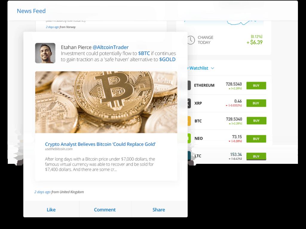 social-news-feed-social-trading-di-eToro-opinioni-recensione