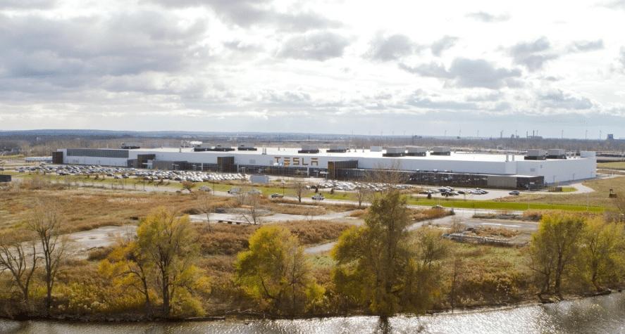 Impianto di produzione Tesla