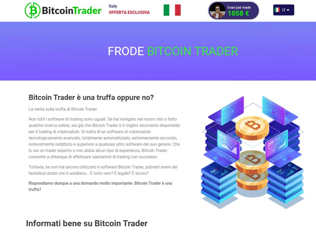 la verità su Bitcoin Trader