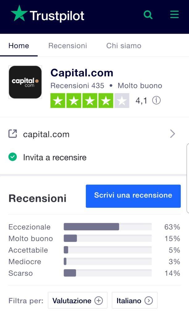 capital.com trustpilot