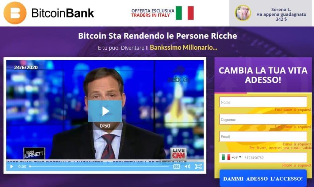 Bitcoin Bank Truffa? Leggi la recensione prima di investire