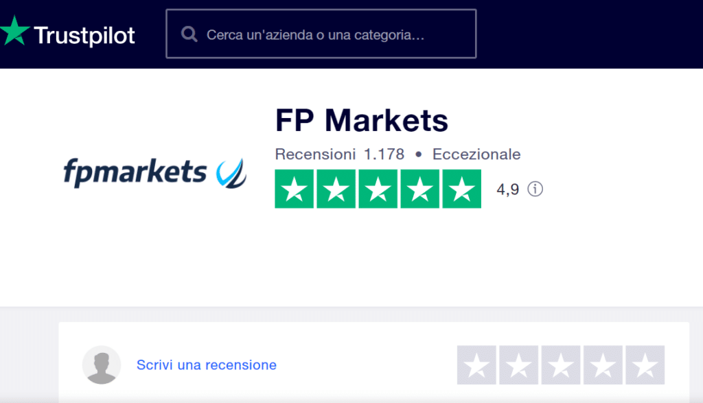 fp markets trustpilot