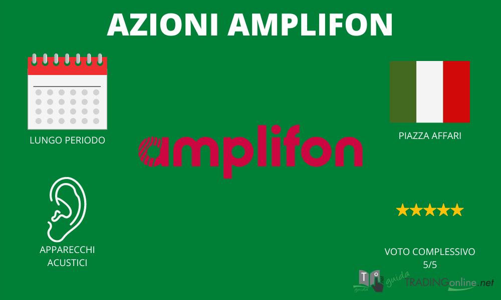 Amplifon riassunto - infografica