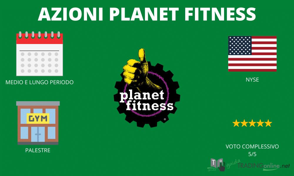 Planet Fitness - riassunto infografica